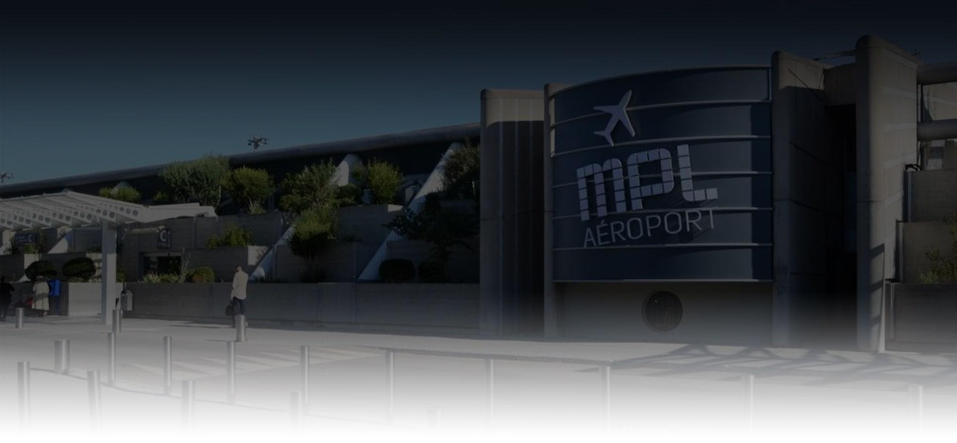 Chauffeur aéroport de Montpellier